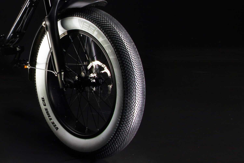 Pneu Fat Bike Speedster Noir VEE TIRE CO. Blanc (à L'unité)